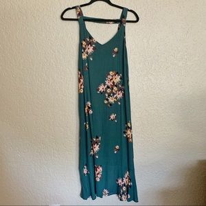 BP Floral Green Dress